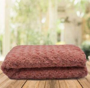 Hodeso High Quality Soft Fleece Blanket (BLUSH PINK)