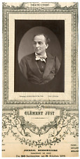 Lemercier, Paris, acteur, Théâtre-Lyrique, Clément Just Vintage Print, vintage p