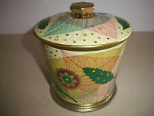 Baret Ware Art Grace England Biscuit Tin Autumn Leaves