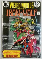 Weird Worlds Presents Iron-Wolf #8 DC Comic 1973 Bronze Age