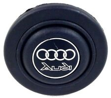 Genuine Raid steering wheel horn push button. Audi, Quattro 80 90 UR Coupe etc