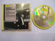 FURTWÄNGLER/SCHUBERT/WEBER: Symphonie No. 9 /Freischütz - 1989 EU CD REMASTERED
