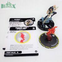 Heroclix Avengers: Black Panther & Illuminati set Namor w/Power #044 Rare fig!