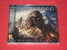2015 Disturbed Immortalized with Bonus Tracks ( Total 16 tracks )  JAPAN CD