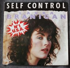 Laura Branigan, self control / silent partners, SP - 45 tours France