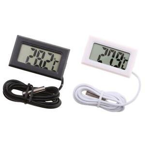 Aquarium Thermometer LCD Digital Fish Tank Water Temperature Detector Test J3S5