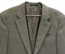 Armani Collezioni Andrisen Morton Wool Blend Blazer Sport Coat 42L Made in Italy