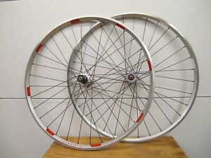 Phil Wood / Velocity A23 Rims  - 700C Clincher - 32H - Road/Touring Wheelset