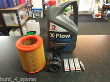 HONDA CIVIC MK7 TYPE R 2.0 SERVICE KIT OIL & AIR FILTERS SPARK PLUGS 5L XFLOW