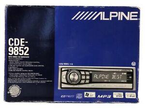 Alpine CDE-9852 MP3/WMA CD Receiver