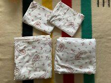 Laura Ashley Queen Sheet Set Floral Paisley 4 Piece