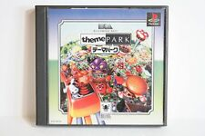 Theme Park PS PlayStation 1 PS1 One PSX Japan Import US Seller