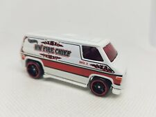 Hotwheels Fire Cheif Van - Excellent