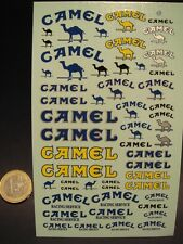 """DECALS 1/24 TABAC """" CAMEL """" - VIRAGES T15"""