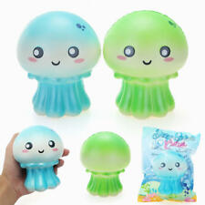 12CM Cutie Seafood Junbo Jellyfish Squishy Slow Rising Phone Strap Cake Toy Gift