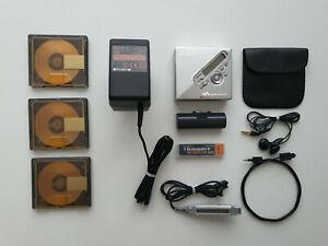 SONY WALKMAN NET MD MINIDISC PLAYER / RECORDER MZ-N710 MINI DISCMDLP