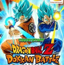 COMPTE DOKKAN BATTLE GLOBAL 3000DS (ANDROID ou IOS)
