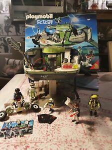 PLAYMOBIL 5149 E-Rangers' Headquarters - Future Planet.  SUPERB Cond. Complete