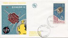 FDC / T.A.A.F. / TERRES AUSTRALES PA N° 9  COTE TIMBRE 225 € / TELECOMMUNICATION
