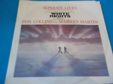 45 TOURS   2 TITRES/ PHIL COLLINS and MARILYN MARTIN     BOF   WHITE  NIGHTS