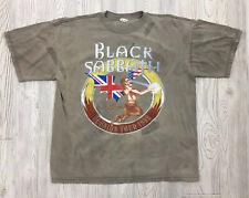 Vintage Black Sabbath 1999 Reunion Tour T-Shirt Size XL