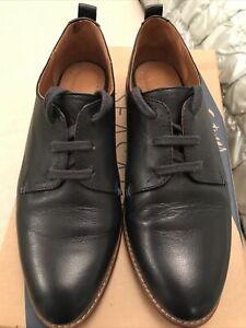 Seasalt Beryan Blue Lace Up Shoes Size UK 5 EU 38 RRP £75