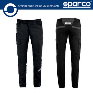 New! 2021 Sparco BOSTON Cargo Pants Multiseason Trousers Workwear Mechanic