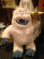 "Jumbo 15"" Rudolph Red Nose Reindeer Abominable Snowman Happy 2000 New Year Nwt"
