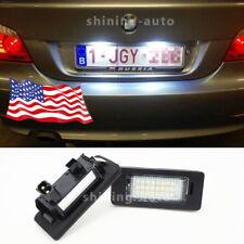 Car Canbus License Plate light White LED bulb for BMW E39 E46 E60 E90 E92 E70 F2