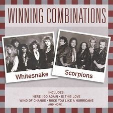 Like New Mint Disc WINNING COMBINATIONS: WHITESNAKE & SCORPIONS CD FREE SHIPPING
