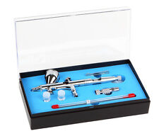 HS80 Gravity Feed d/Action Airbrush Special Set + Free Cleaning Brush Set