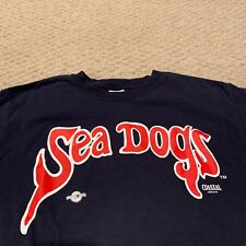 Portland Sea Dogs T Shirt Minor League Baseball Red Sox Affiliate New Medium