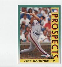 1992 Fleer New York Mets Baseball Card #675 Jeff GardnerRC
