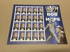 2009 BOB HOPE THANKS FOR THE MEMORIES SC# 4406 FACE VALUE $8.80 MNH PANE OF 20