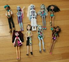 Monster High Doll Lot of 9 1st Wave Original Ghouls Rare Hard to Find