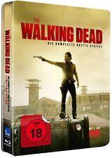*THE WALKING DEAD - STAFFEL 3 *UNCUT* DEUTSCH *LIM. BLU-RAY STEELBOOK* NEU/OVP