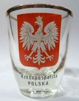 POLAND SHOT GLASS SHOTGLASS