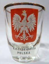 POLAND SHOT GLASS SHOTGLASS