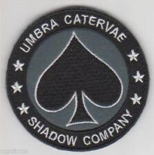 CALL OF DUTY. SHADOW COMPANY PATCH BLACK SPADES. NEW. FREE SHIPPING