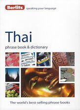 Berlitz Thai Phrase Book & Dictionary *FREE SHIPPING - NEW*