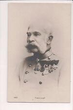 Vintage Postcard Emperor Franz Joseph I of Austria  Hungary