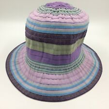 Wallaroo Kids Lids sun hat Petite Nantucket purple crushable one size