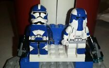 Lego Star Wars Clone Wars 501st Commanders Wyatt and Cooper Clone Trooper