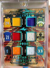 2019 Leaf Game Used Jersey Patch Michael Jordan Kobe Bryant Grant Hill   /9  ***