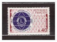 FRANCE 1967 MNH Lions club 1v s24993
