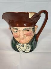 "Vintage Royal Doulton ""Olde Charley"" Small Character Toby Jugs Mug Cup 3� D5527"