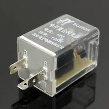 DC 12V 3 Pin Electronic Flasher Relay Fix LED Turn Signal Light Indicatior Flash