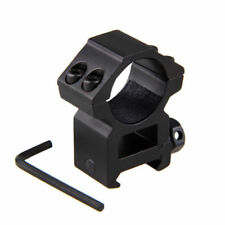 High Profile 20mm Dovetail Rail Mounts Hunting Mount For Rifle Scope Ring 25.4mm