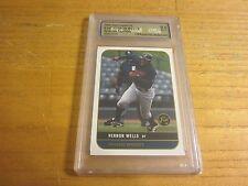 Vernon Wells 2000 Just Graded 2k USA 9.5 MINT+ Graded Trading Card MLB Baseball