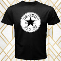 The Queers All Stars Logo Men's Black T-Shirt Size S - 3XL